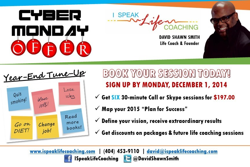 Coaching Tips and Promotions – I Speak Life Coaching